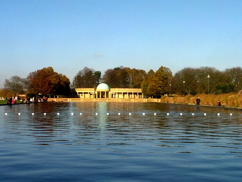 Eaton Park on the Earlham Road, where I had my second date with Pepper
